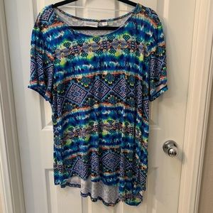 5 for $25! Colorful Pattern Shirt
